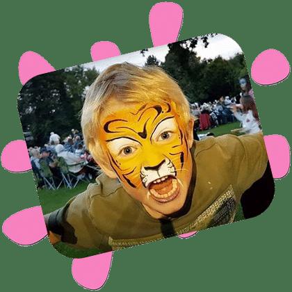 Community Event Face Painter Hampshire 420x420 1