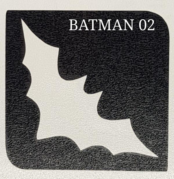 Batman 02 glitter tattoo