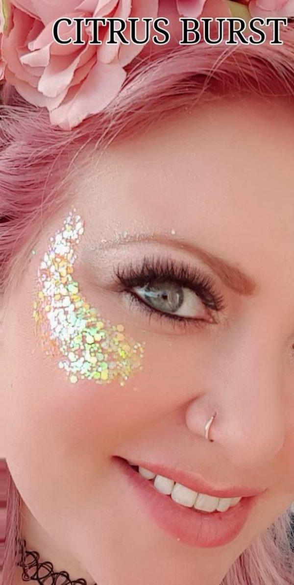 CITRUS BURST COLOUR Festival Glitter Kit