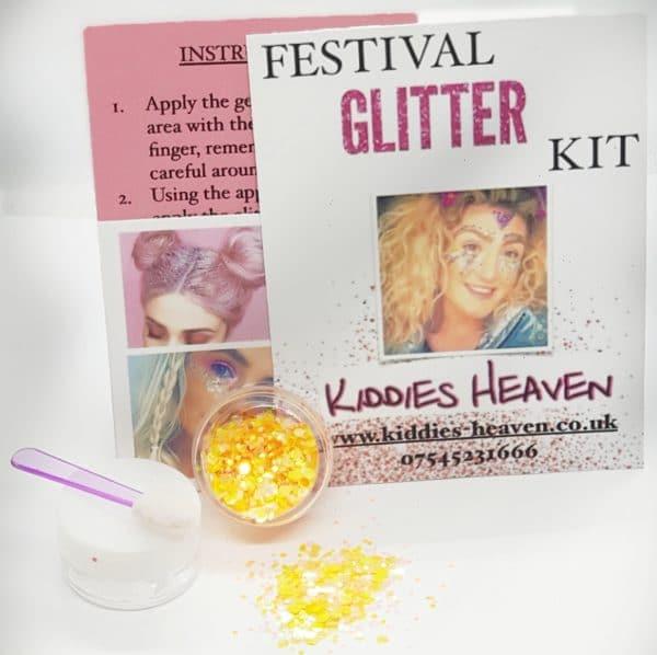 CITRUS BURST Festival Glitter Kit