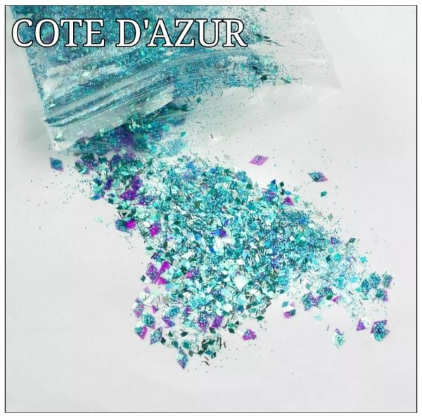 COTE DAZUR GLITTER COLOUR