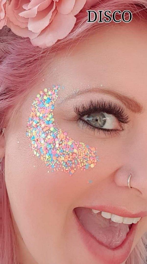 DISCO COLOUR Festival Glitter Kit