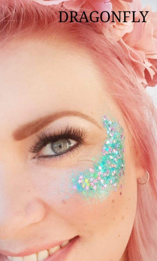 DRAGONFLY COLOUR Festival Glitter Kit