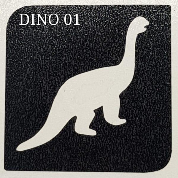 Dino 01 Glitter Tattoo
