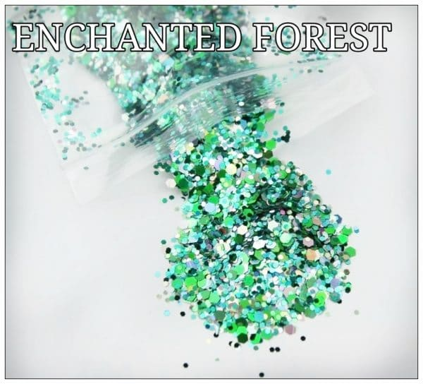 ENCHANTED FOREST GLITTER COLOUR