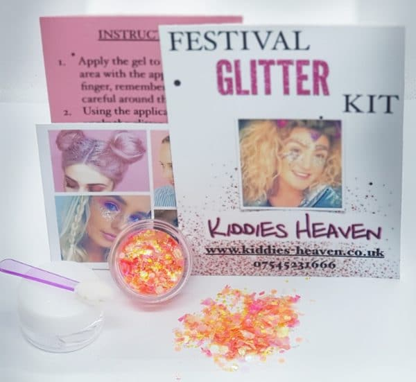 FEELING HOT HOT HOT Festival Glitter Kit