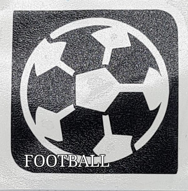 FOOTBALL Glitter Tattoo Kit
