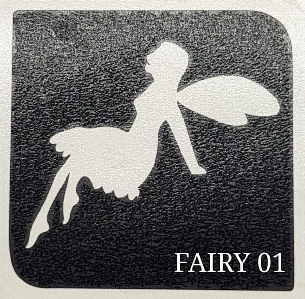 Fairy 01 Glitter Tatto