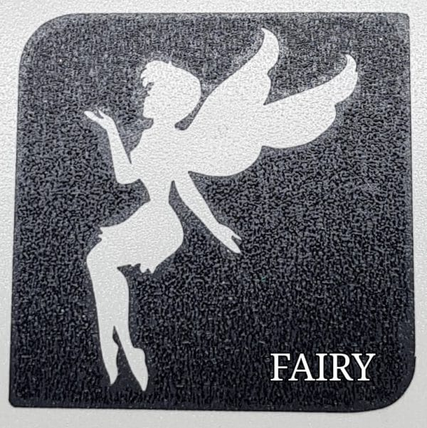 Fairy glitter tattoo
