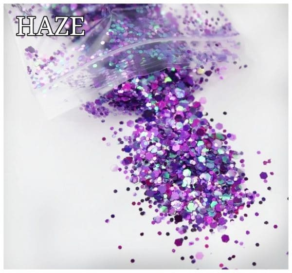 HAZE GLITTER COLOUR