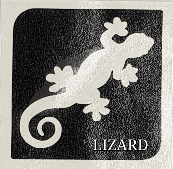 LIZARD Glitter Tattoo Kit