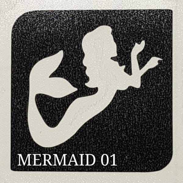 MERMAID 01 Glitter Tattoo Kit 1