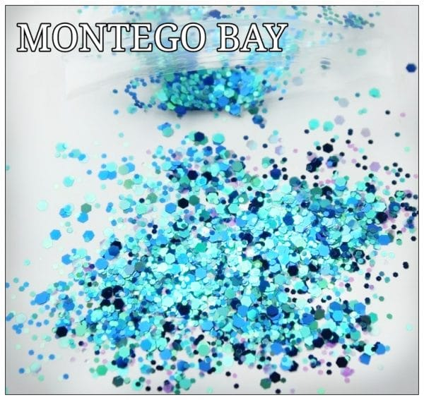 MONTEGO BAY GLITTER COLOUR