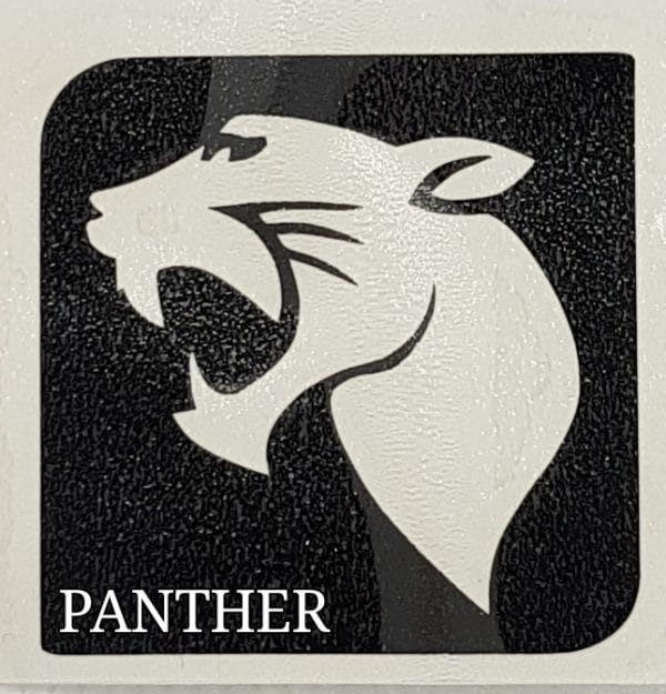 PANTHER Glitter Tattoo Kit