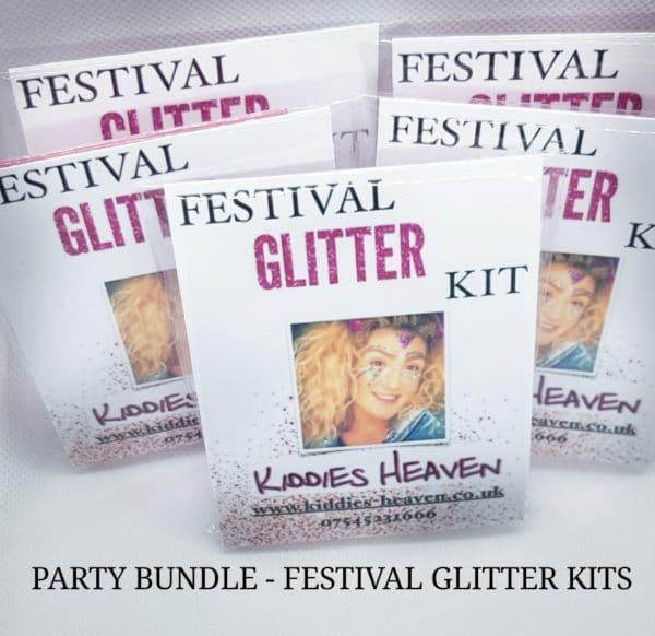 PARTY BUNDLE FESTIVAL GLITTER KITS
