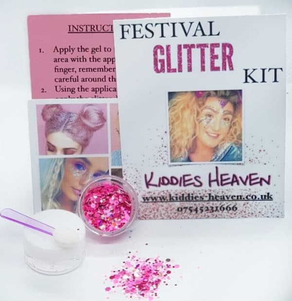 POWER PUFF Festival Glitter Kit