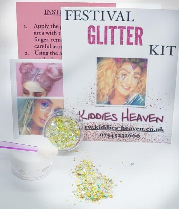 SUPER STAR Festival Glitter Kit