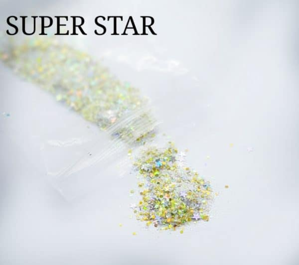 SUPER STAR GLITTER COLOUR