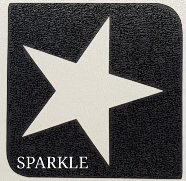 Sparkle glitter tattoo