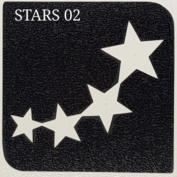Stars 02 glitter tattoo