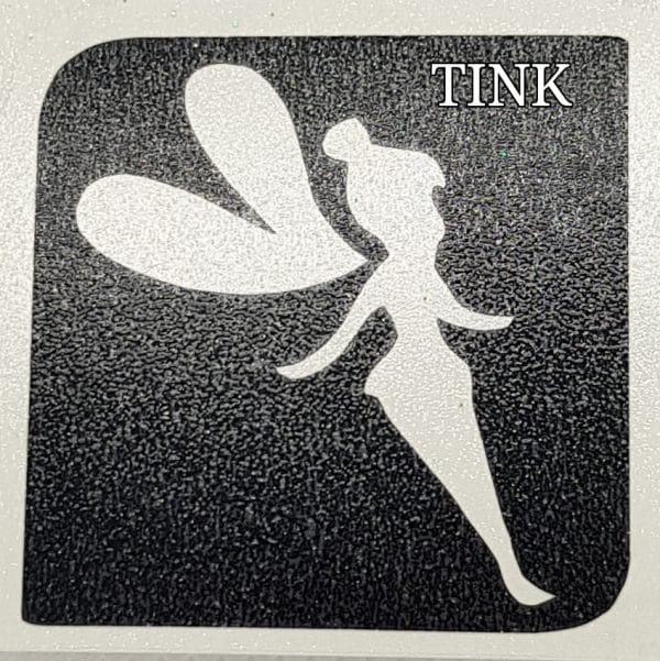 Tink Glitter tattoo