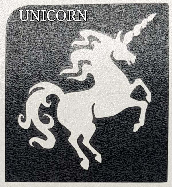 UNICORN Glitter Tattoo Kit